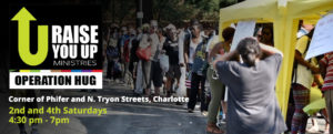 Raise You Up Ministries @ On the streets of Charlotte | Charlotte | North Carolina | United States