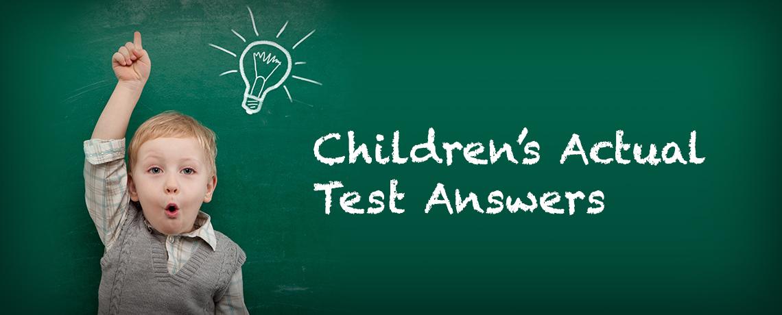 childrenssciencetestanswers