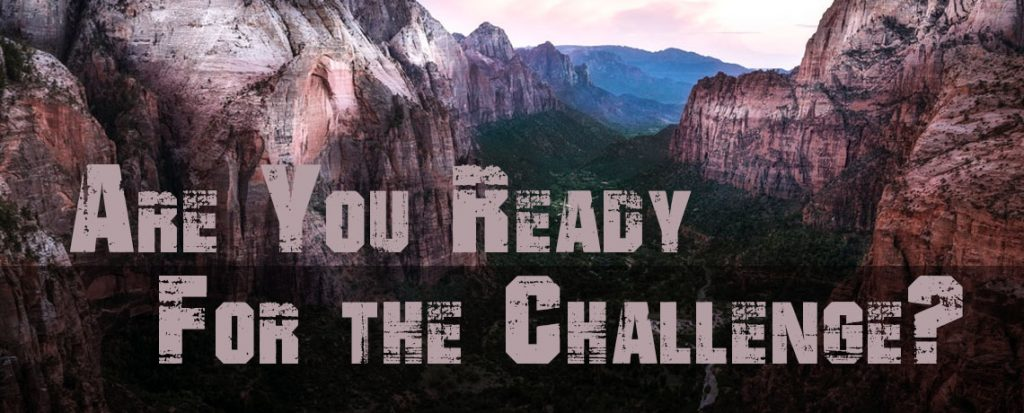 Are You Ready for the Challenge